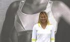 Anna Kournikova advertising Shock Absorber sports bras