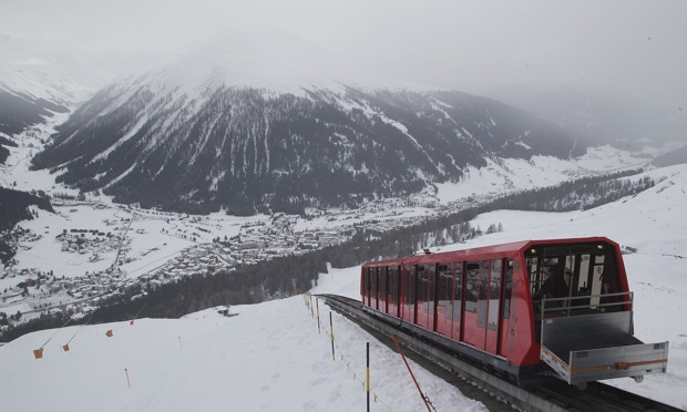 Davos in the Swiss Alps - World Economic Forum