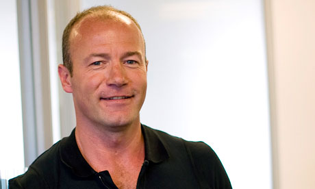 Alan Shearer is at Euro 2012 with the BBC