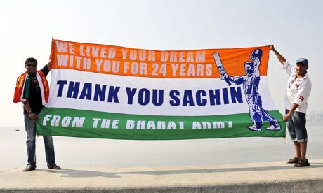 Sachin Tendulkar's emotional farewell to the 22 yards the most telling