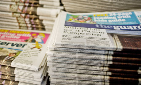 copies of the Guardian