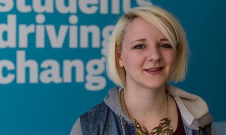 Tonie Pearce, new NUS president