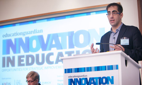 Brett Wigdortz of Teach First at the Innovation in Education conference