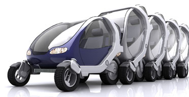 Robot Car Streets Ahead In Cities Of The Future Uk News