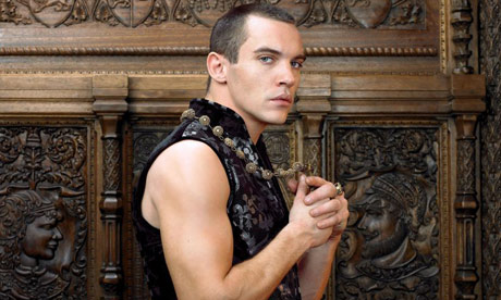 Jonathan Rhys-Meyers as Henry VIII in the BBC series The Tudors.
