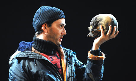 David Tennant in Hamlet by The Royal Shakespeare Company at Novello