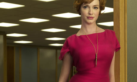 Living doll: Mad Men's Joan Holloway, played by Christina Hendricks.