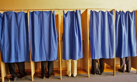 Some voters change their mind about who to vote for when they enter the polling booth
