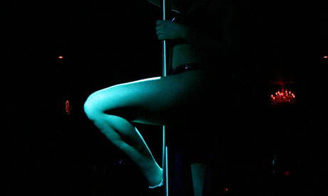 A recent survey of lap-dancers by Leeds University showed one in three were funding highereducation
