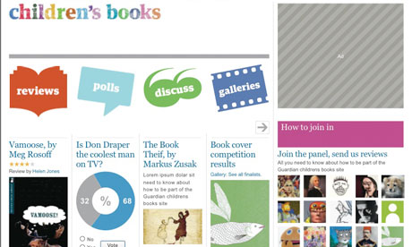 The new Children's Books website will feature contributions from young people all over the world