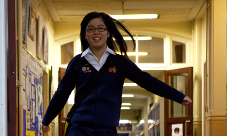 18-year-old Jessie Tang thinks Chinese pupils' success is 'mostly down to the parents'