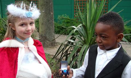 Royal wedding at St Thomas CE primary
