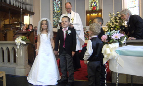 Bickerstaffe primary's royal wedding