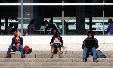 'The university library is empty all year except for the two-week run-up to deadlines.'