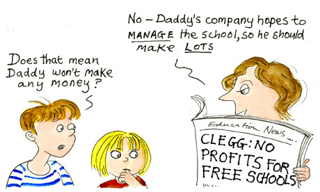 Ros Asquith Lines No profits for free schools