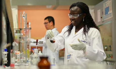 Laboratory in Cape Town