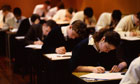 Pass rates at A-level have been boosted by modules and re-takes