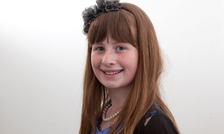 Lorna Williamson, primary runner-up in the Young Human Rights Reporter of the Year competition