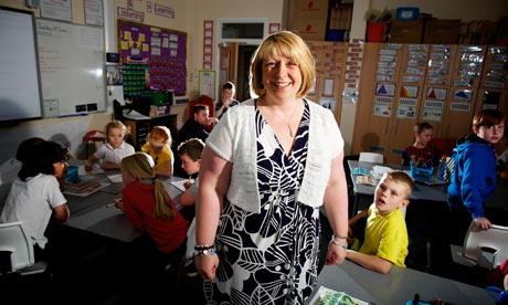 Sharon Bruton, leader of The Keys Federation of three primary schools in Wigan
