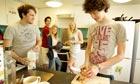 Student halls, freshers at Bath