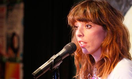 Bridget Christie performs at the Edinburgh festival fringe