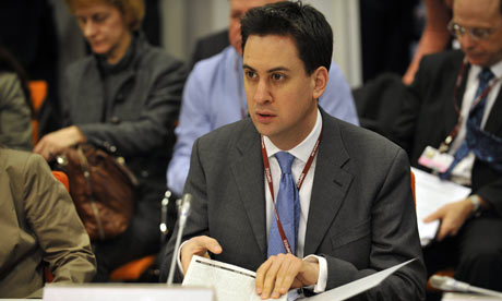 COP15 : British Secretary of State for Energy and Climate Change Ed Miliband
