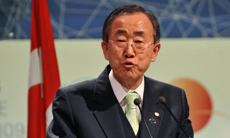 COP15 UN Secretary-General  Ban Ki-Moon