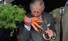 Prince Charles 'Start' Sustainable Living Initiative Tour of Britain