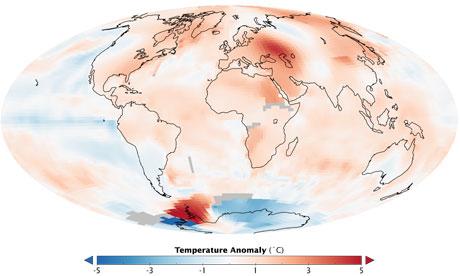 US scientists unite against climate sceptics : Summer 2010 temperatures