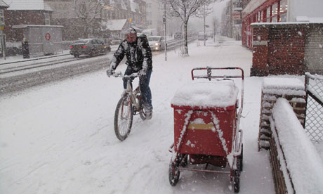 Bike blog : cycling in snow