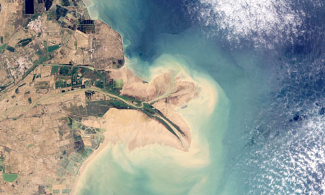 Satellite Eye on Earth: delta of China's Huang He