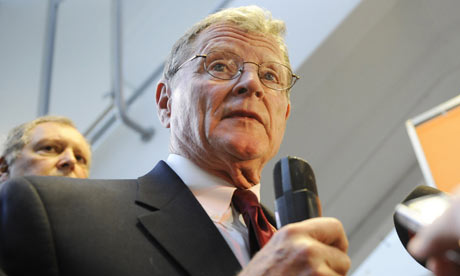 Hacked climate science emails : US senator James Inhofe at COP15