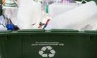Residential recycling box, London