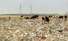 Beijing waste crisis: landfill of Xiaotangshan Town in Changping District , Beijing