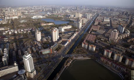 Tianjin is the sixth largest city, in terms of urban population of China