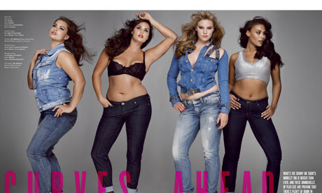 Elle Plus Size Model Taboo Plus-size Models on