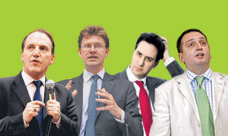 ask the ministers: Darren Johnson, Ed Miliband, Greg Clark and Simon Hughes