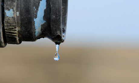 Global Water shortage :  California's third year of drought