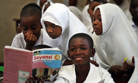 MDG2 school in Masaki, Dar es
