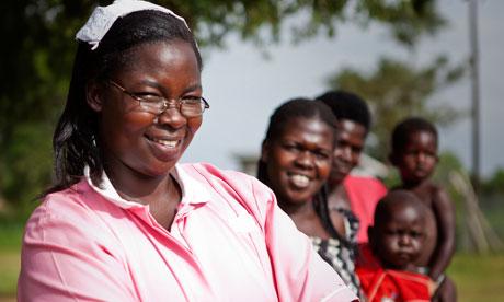 MDG : Katine midwife : Tiriri midwife Esther Madudu