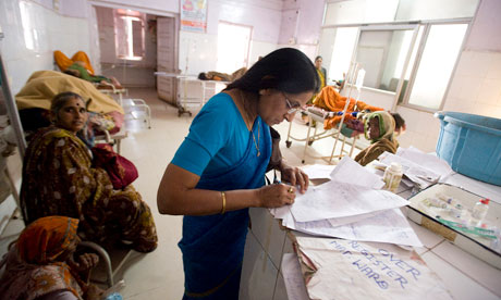 MDG : DFID aid in India