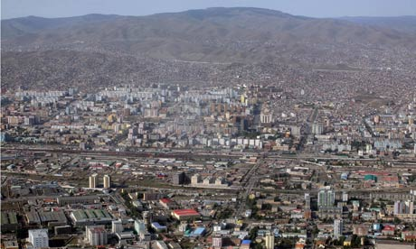 Ulan Bator is the capital of Mongolia and the largest city in the region
