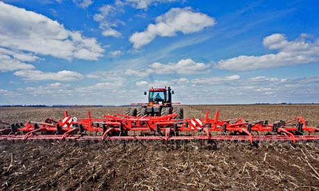 Beddington report on future of agriculture : Industrial Milk Of Ukraine Processing Plant