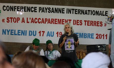 MDG : Stop Land Grabbing conference in Mali