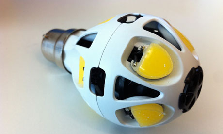 Ultra Efficient  Zeta LED to replace the 60w incandescent bulb