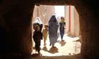 MDG : Afghan women :  street in Herat, Afghanistan