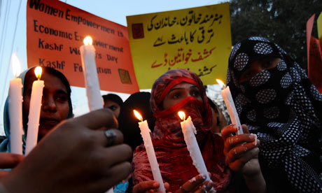 MDG : Domestic violence : Women human rights activists in Pakistan