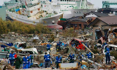 Mdg : Rescue team : Japam Earthquake and Tsunami