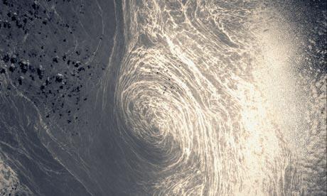 Eddy in the Gulf Stream Current