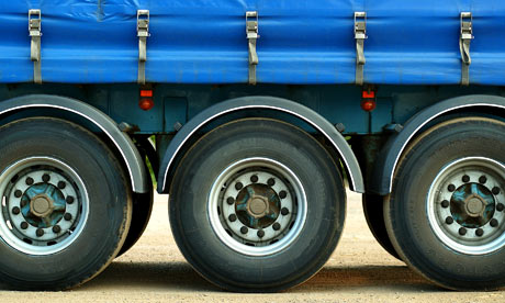 Lorry wheels